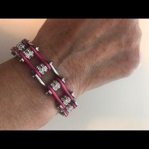 Jewelry - Pink chain bracelet